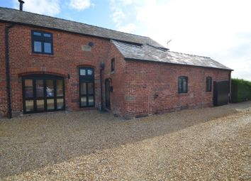 Thumbnail 5 bedroom barn conversion to rent in Poplar Hall Lane, Chorlton-By-Backford, Chester