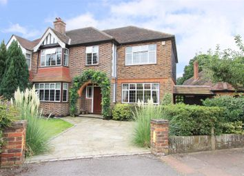 Thumbnail 5 bed semi-detached house for sale in West Drive Gardens, Harrow