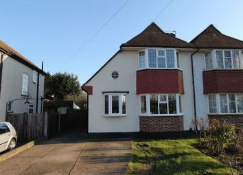 Thumbnail 3 bed semi-detached house for sale in Motspur Park, New Malden