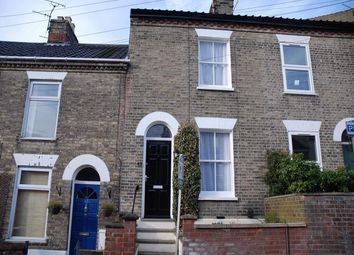 Thumbnail 3 bedroom terraced house to rent in Leicester Street, Norwich