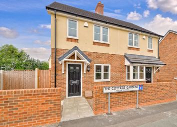 Thumbnail 2 bed semi-detached house for sale in The Cottage Gardens, Wellington Road, Muxton