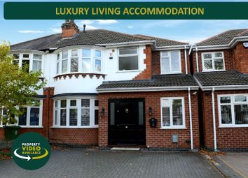 Thumbnail 4 bed semi-detached house for sale in Welford Road, Knighton, Leicester