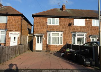 Thumbnail 2 bed semi-detached house to rent in Off Melton Road, Woodbridge Road, Leicester