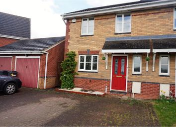 Thumbnail 3 bed semi-detached house for sale in Taverners Road, Leicester