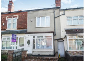 Thumbnail 3 bed terraced house for sale in St. Benedicts Road, Birmingham