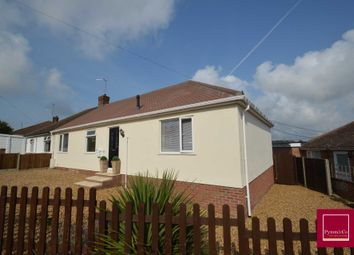 Thumbnail 3 bed semi-detached bungalow for sale in Margaret Road, New Costessey, Norwich