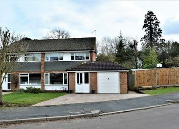 Thumbnail 3 bed semi-detached house for sale in Mill Field, Bagshot, Surrey