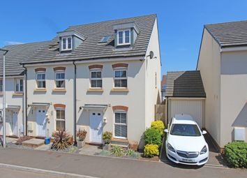 Thumbnail 4 bed end terrace house for sale in Swallow Way, Cullompton, Devon