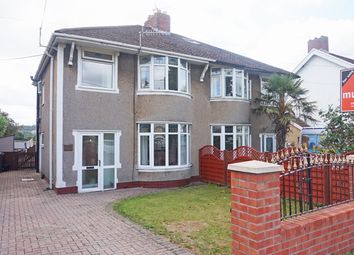 Thumbnail 3 bed semi-detached house for sale in Gelligaer Road, Trelewis
