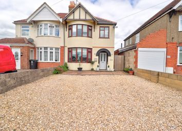 Thumbnail 3 bed semi-detached house for sale in Moredon Road, Swindon