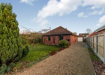 Thumbnail 3 bed detached house for sale in Station Road, Great Moulton, Norwich