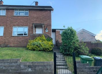 Thumbnail 2 bed semi-detached house for sale in Ilfracombe Crescent, Llanrumney, Cardiff.