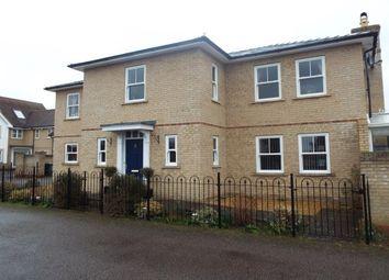 Thumbnail 5 bed detached house to rent in Cossington Close, Cottenham, Cambridge
