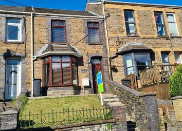 Thumbnail 3 bed terraced house for sale in Wern View, Pontrhydyfen, Neath Port Talbot.