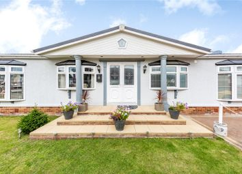 Thumbnail 2 bed mobile/park home for sale in The Oaks, Hayes Country Park, Battlesbridge, Wickford