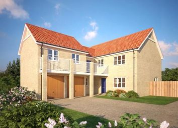 Thumbnail 4 bed detached house for sale in Rowan Close, Watlington, King's Lynn