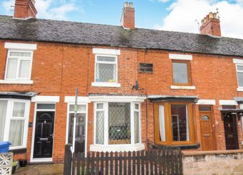 Thumbnail 2 bed terraced house for sale in Leighton Road, Uttoxeter