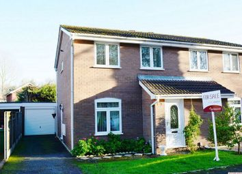 Thumbnail 3 bed semi-detached house for sale in Spruce Drive, Leegomery, Telford