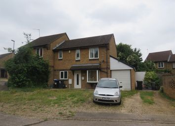 Thumbnail 3 bed semi-detached house for sale in Hammerstone Lane, Northampton