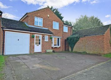 Thumbnail 4 bed detached house for sale in Old Barn Road, Leybourne, West Malling, Kent