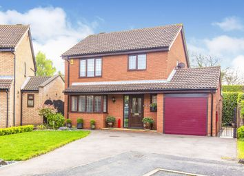 Thumbnail 3 bed detached house for sale in Farcet Close, Eaton Ford, St. Neots