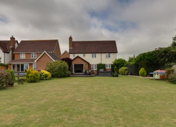 Thumbnail 5 bed detached house for sale in Salmons Close, Barnston, Dunmow
