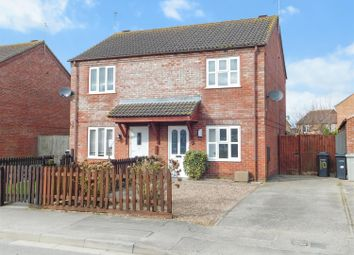 Thumbnail 2 bed semi-detached house for sale in The Meadows, Skegness