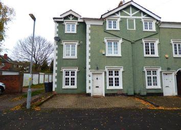 Thumbnail 4 bedroom end terrace house for sale in Tibbets Lane, Harborne, Birmingham