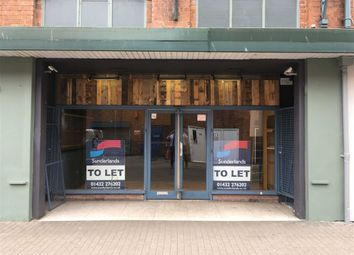 Thumbnail Retail premises to let in West Street, Hereford, Herefordshire