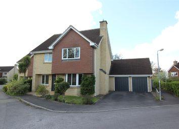 Thumbnail 4 bed detached house for sale in Sandes Close, Chippenham