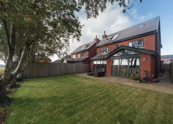 Thumbnail 5 bed detached house for sale in Pennington Close, Crawford Village