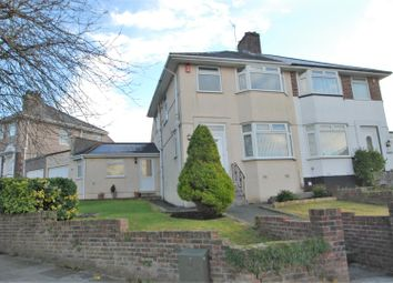 Thumbnail 3 bed semi-detached house to rent in Segrave Road, Plymouth