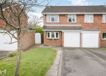 Thumbnail 3 bedroom semi-detached house for sale in Peverill Road, Perton, Wolverhampton