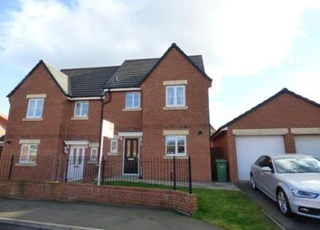 Thumbnail 3 bed semi-detached house for sale in Capheaton Way, Seaton Delaval, Whitley Bay, Northumberland