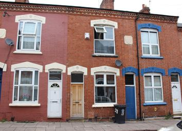 Thumbnail 3 bedroom terraced house for sale in Cedar Road, Highfields, Leicester