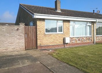 Thumbnail 2 bed semi-detached bungalow to rent in Hales Close, Caister-On-Sea, Great Yarmouth