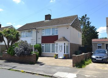 Thumbnail 3 bed semi-detached house for sale in St. Marys Crescent, Stanwell, Staines