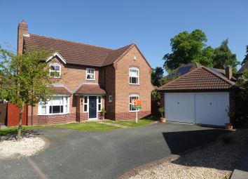 Thumbnail 4 bed detached house for sale in Wigeon Grove, Leegomery, Telford