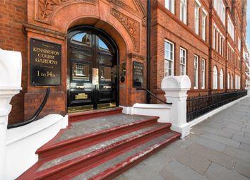 Kensington Court Gardens, London W8. 4 bed flat