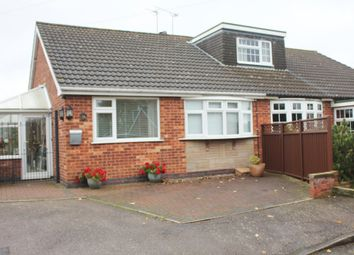 Thumbnail 2 bedroom semi-detached bungalow for sale in Nursery Close, Thurlaston, Leicester