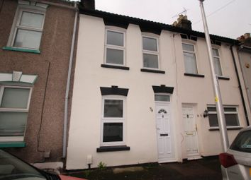 Thumbnail 3 bed terraced house for sale in Seymour Road, Chatham, Kent