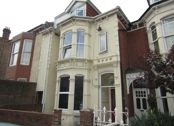 Thumbnail 4 bedroom flat to rent in Lawrence Road, Southsea
