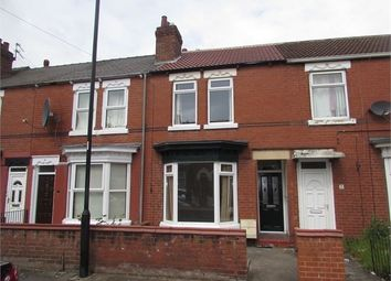 Thumbnail 3 bed terraced house to rent in Strafford Road, Doncaster