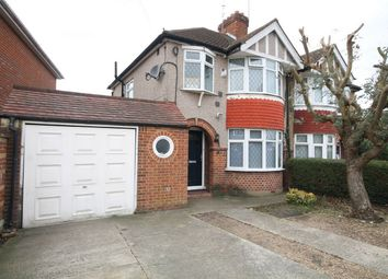 Thumbnail 3 bed semi-detached house for sale in Richmond Avenue, Bedfont, Feltham, Middlesex
