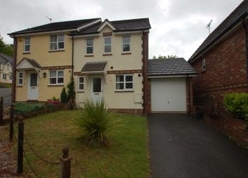 Thumbnail 3 bed semi-detached house for sale in Curlew Close, Torquay