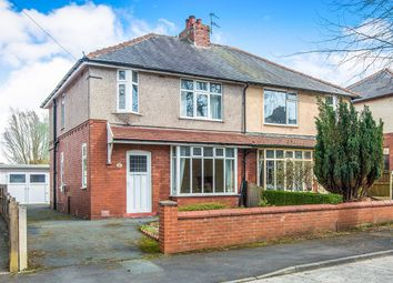 Thumbnail 3 bed semi-detached house for sale in Windsor Avenue, Ashton-On-Ribble, Preston
