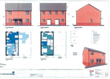 Thumbnail 2 bed semi-detached house for sale in Surbiton Close, Hull