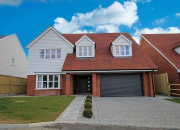 Windmill Close, Hawkinge, Folkestone CT18. 4 bed detached house for sale