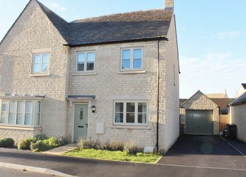 Thumbnail 3 bed semi-detached house for sale in Scott Thomlinson Road, Fairford