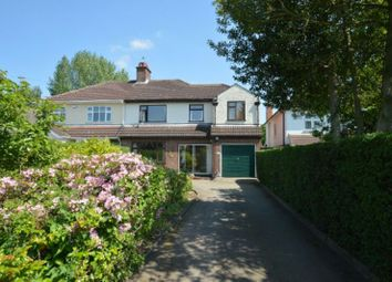 Thumbnail 4 bed semi-detached house for sale in Leicester Road, Glen Parva, Leicester